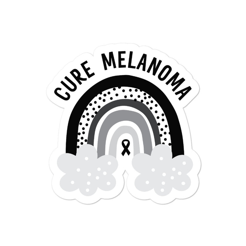 'Rainbow' Melanoma Sticker
