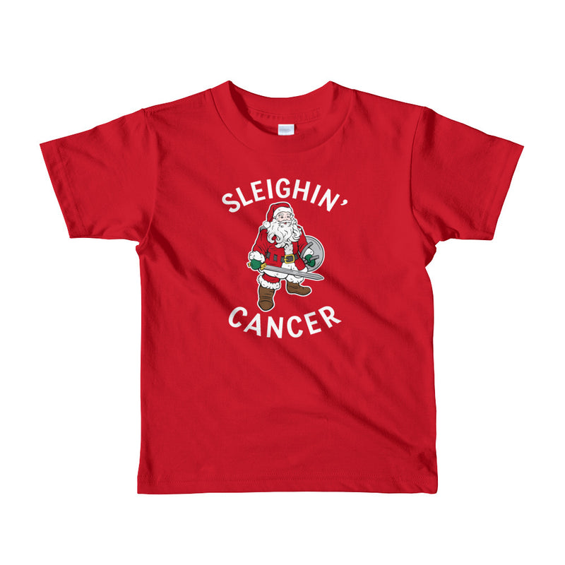 Little Kids' | 'Sleighin' Cancer' T-Shirt