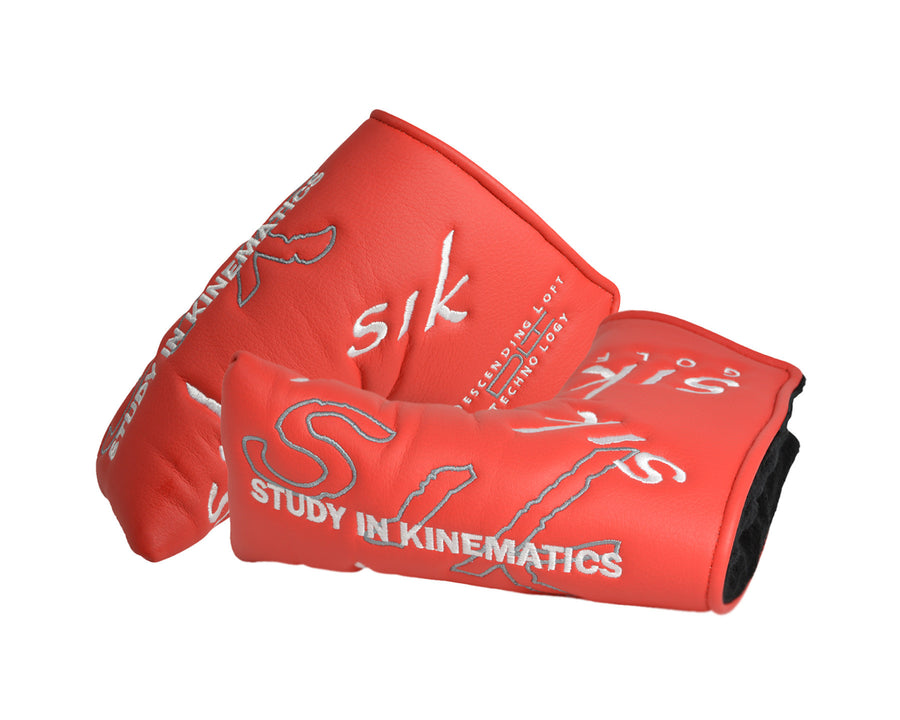 SIK Golf | Red putter headcover | custom putters