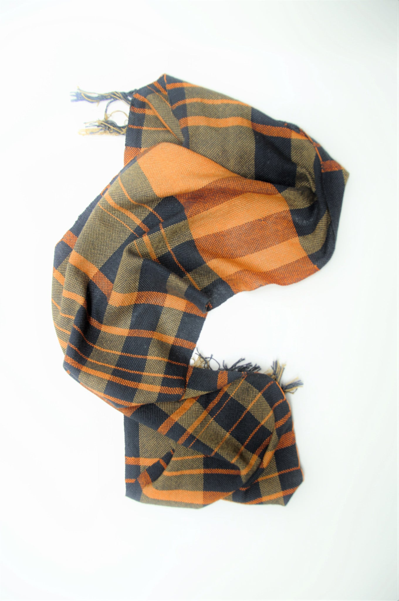 Ode: handwoven cotton scarf