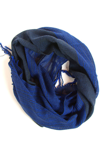 Keaton handwoven cotton scarf