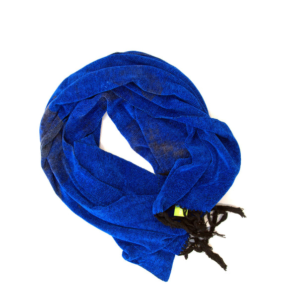 Azul woven extra soft scarf