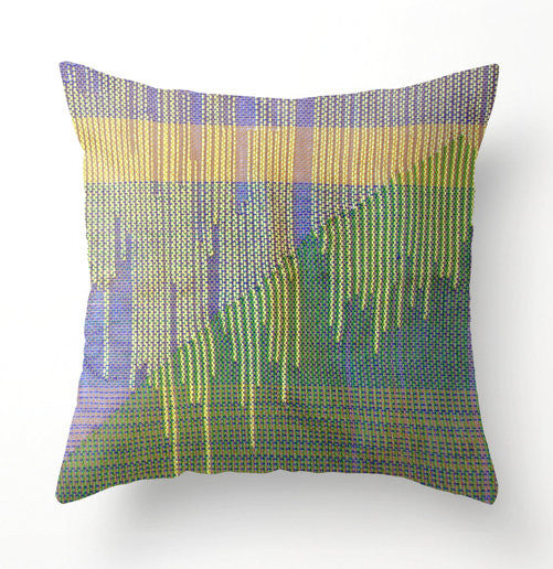 Spring decorative throw pillow