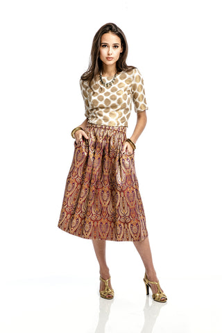Selma Sari Pleated Skirt