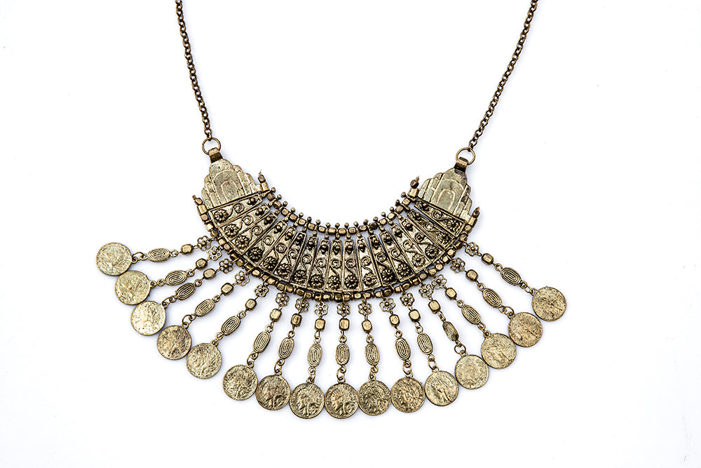 TOLA Coin Necklace - Gold