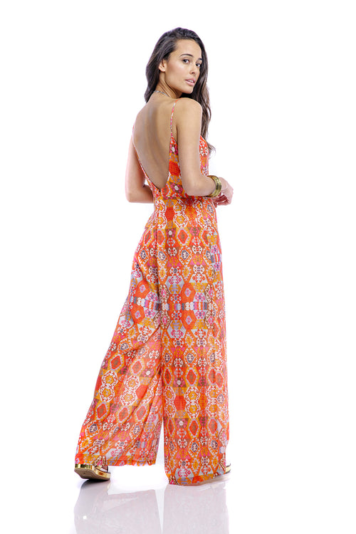 Vine Wide Leg Jumpsuit