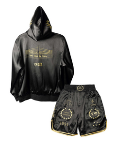 CROSS X TRSRZN Embroidered Silk Full Set / Black & Gold