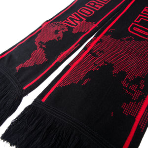 World Champion Scarf / Black & Red