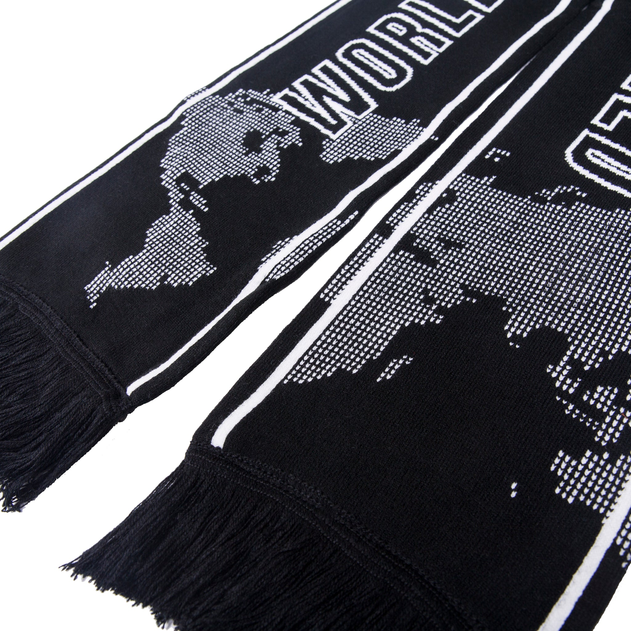 World Champion Scarf / Black & White