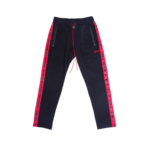 Track Pants V2 / Black & Red