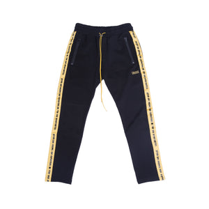 Track Pants V2 / Black & Yellow