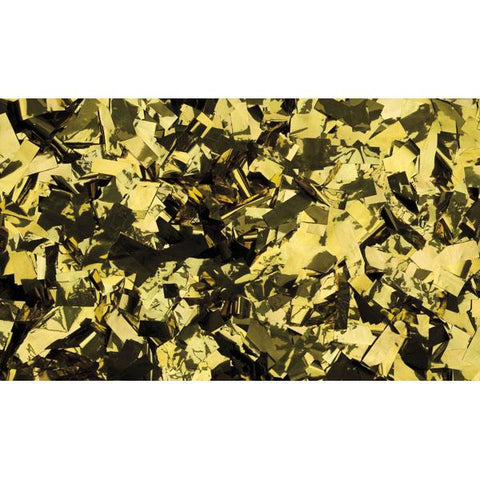 Show Confetti Metal - Gold, Rectangle, 1 kg Flameproof