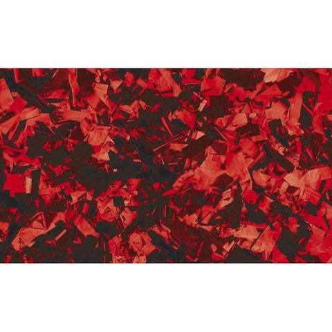Show Confetti Metal - Red, Rectangle, 1 kg Flameproof