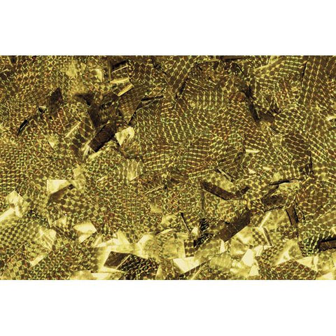 Show Confetti Metal - Gold, Laser, 1 kg, Flameproof
