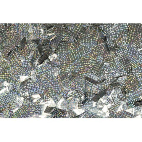 Show Confetti Metal - Silver, Laser, 1 kg, Flameproof
