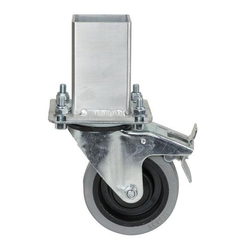 Spider-D Leg on Wheel - 25cm, incl swiveling wheel