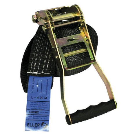 Strap - 25mm 5mtr Single Black 500kg