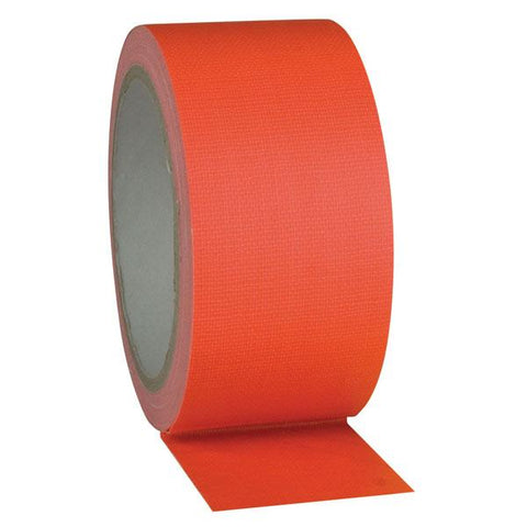 Gaffa tape Neon - Orange 50mm / 25m