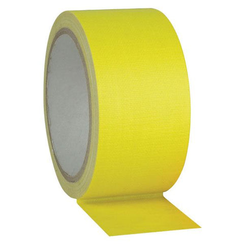 Gaffa tape Neon - Yellow 50mm / 25m