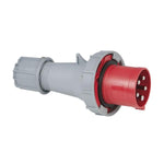 CEE 63A 400V 5p Plug Male - Red, IP67