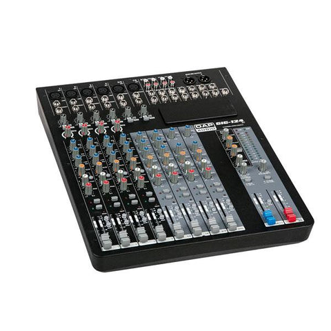 GIG-124C 12 Channel live mixer incl. dynamics