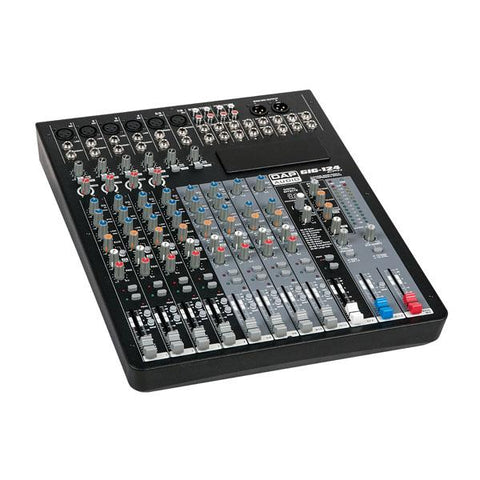 GIG-124CFX 12 Channel live mixer incl. dynamics & DSP