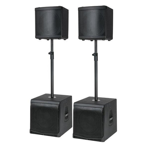 DLM Speakerset incl. poles