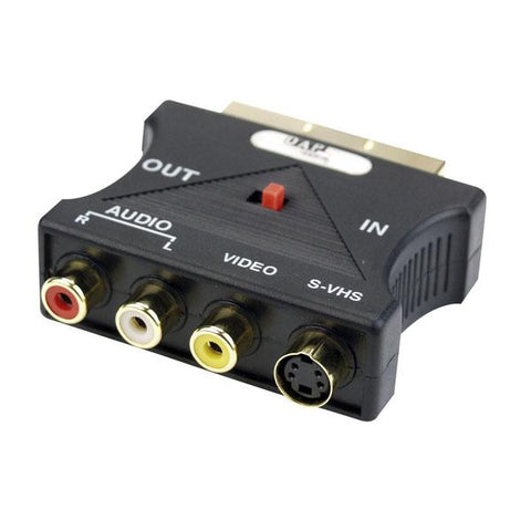 FV10 Scart adapter - Video multi-transmission adapter in & out