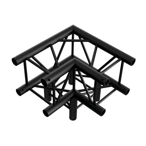 Corner 3-way 90¡ - BLACK, Pro-30 Square P Truss