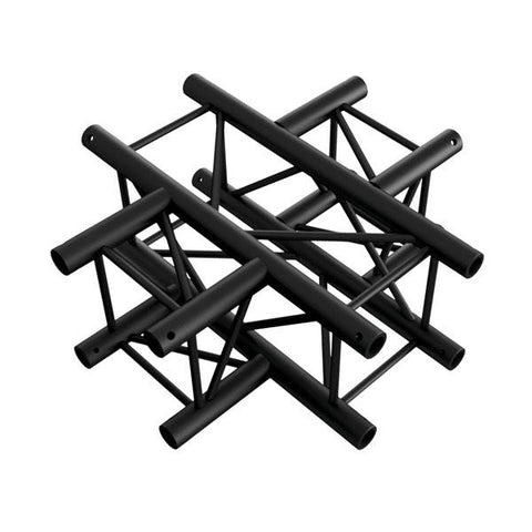 Cross 4-way - BLACK, Pro-30 Square P Truss