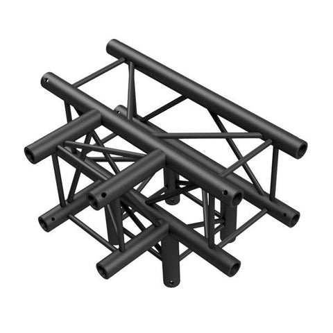T-Cross + Down 4-way - BLACK, Pro-30 Square P Truss