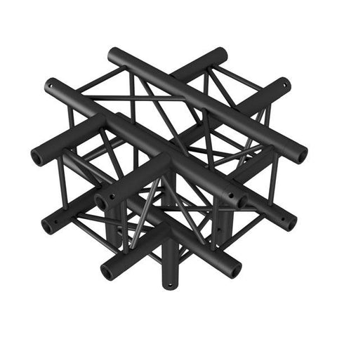 Cross + Down 5-way - BLACK, Pro-30 Square P Truss