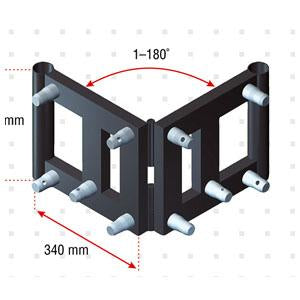 Bookcorner - Pro-30 Triangle P Truss bookcorner