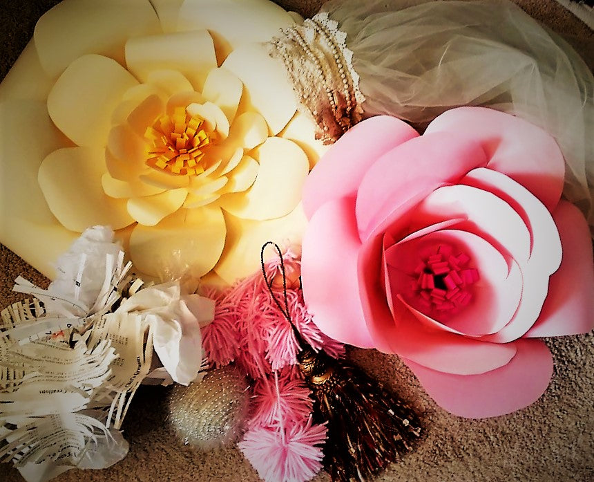 WEDNESDAY JULY 31 BRIDAL WORKSHOP  - GIANT PAPER FLOWERS