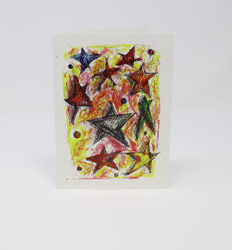 Starry Starry Stars Greeting Card