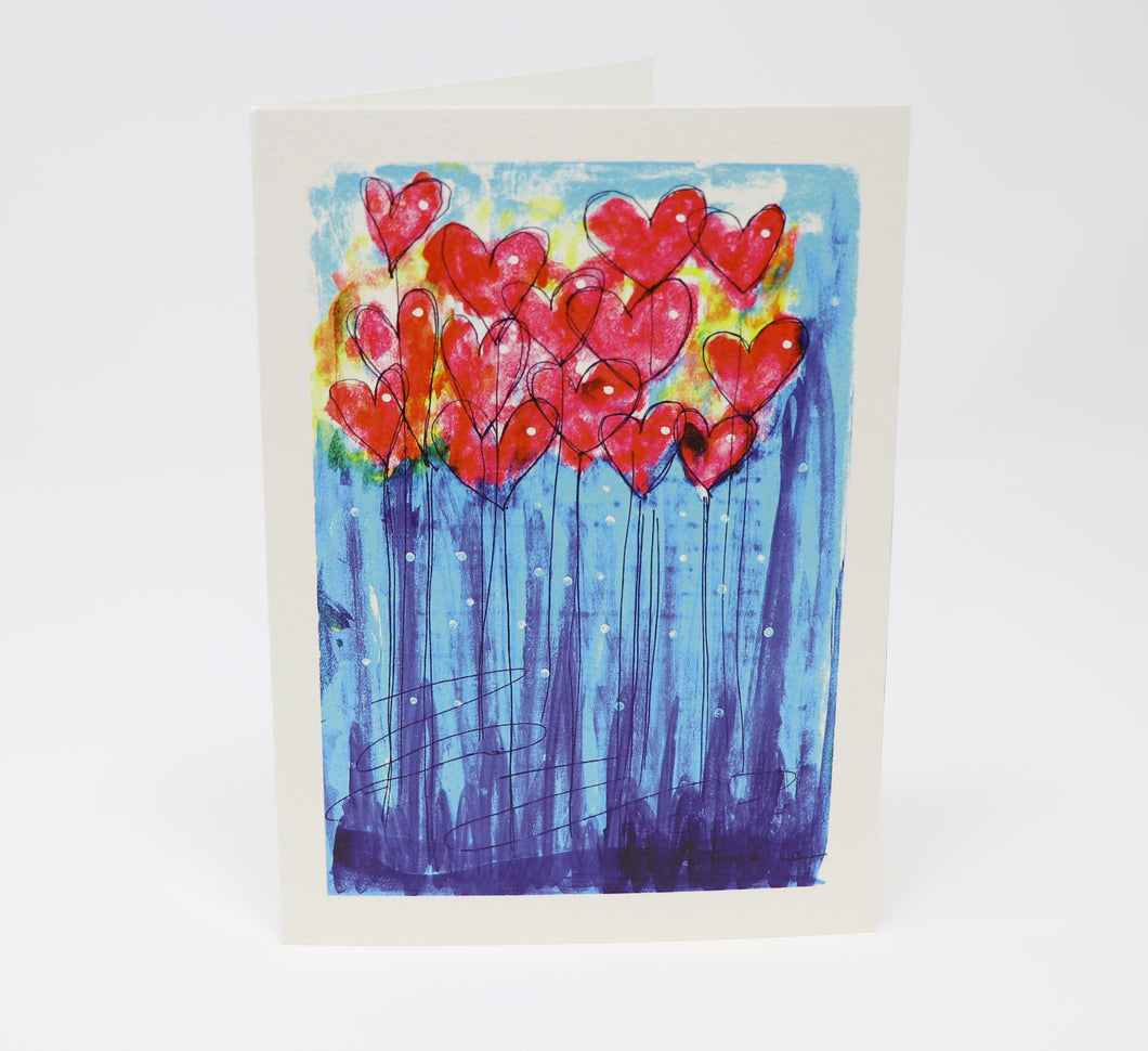 Garden Full of Hearts!!! Greeting Card