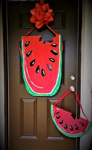 TUESDAY JULY 30 Watermelon Front Door Hanger Class