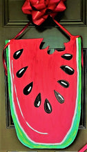 Load image into Gallery viewer, TUESDAY JULY 30 Watermelon Front Door Hanger Class