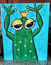 Load image into Gallery viewer, WEDNESDAY AUGUST 7 ----         KIDS ART CLASS - FROG
