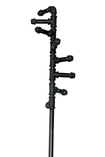 Metal Pipe Coat Rack Stand