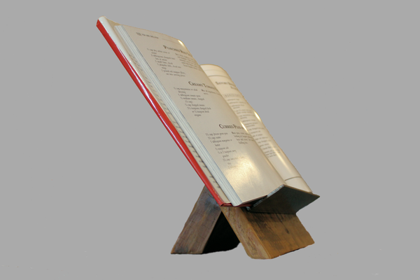 Industrial Cookbook Stand