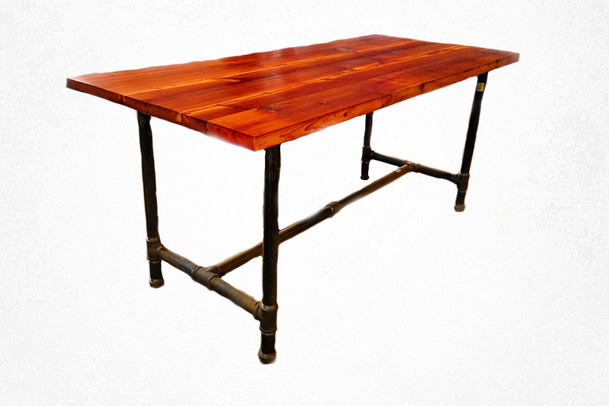Picture of: Bar Height Table Reclaimed Art