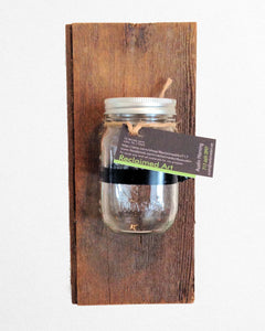 Single Mason Jar Wall Sconce