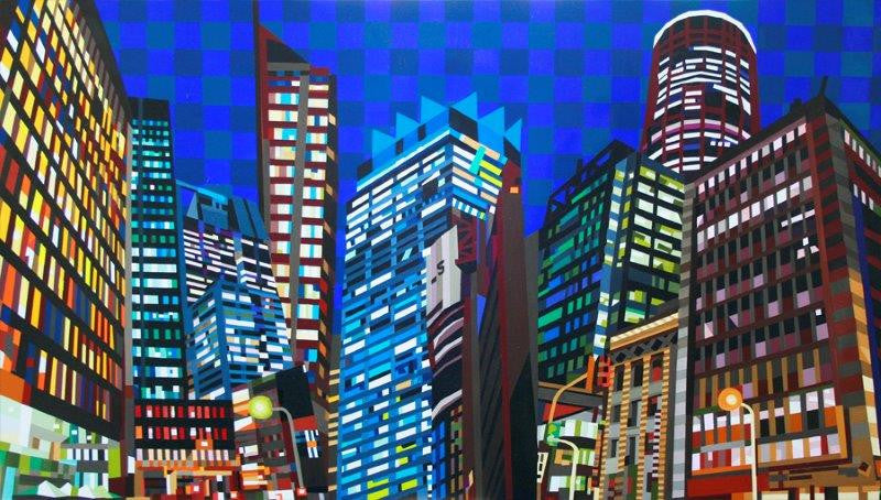 Sydney Art by local artist Mary Shackman