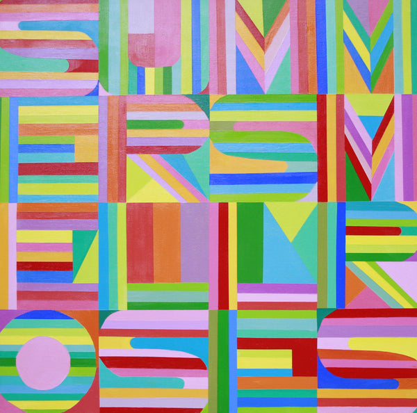 Colourful Typography by Mary Shackman