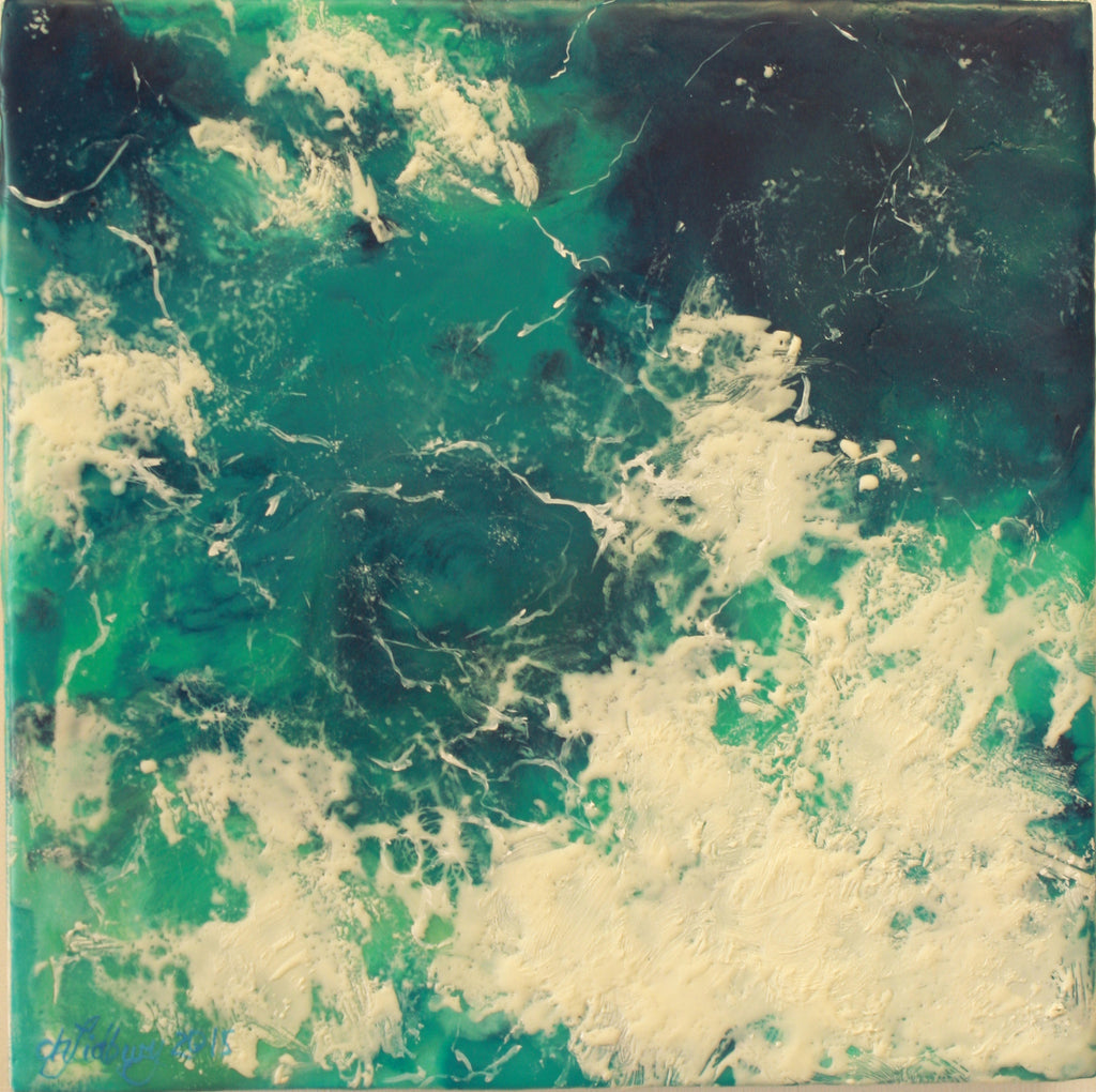 Encaustic Artwork by local artist Cherie Lidbury