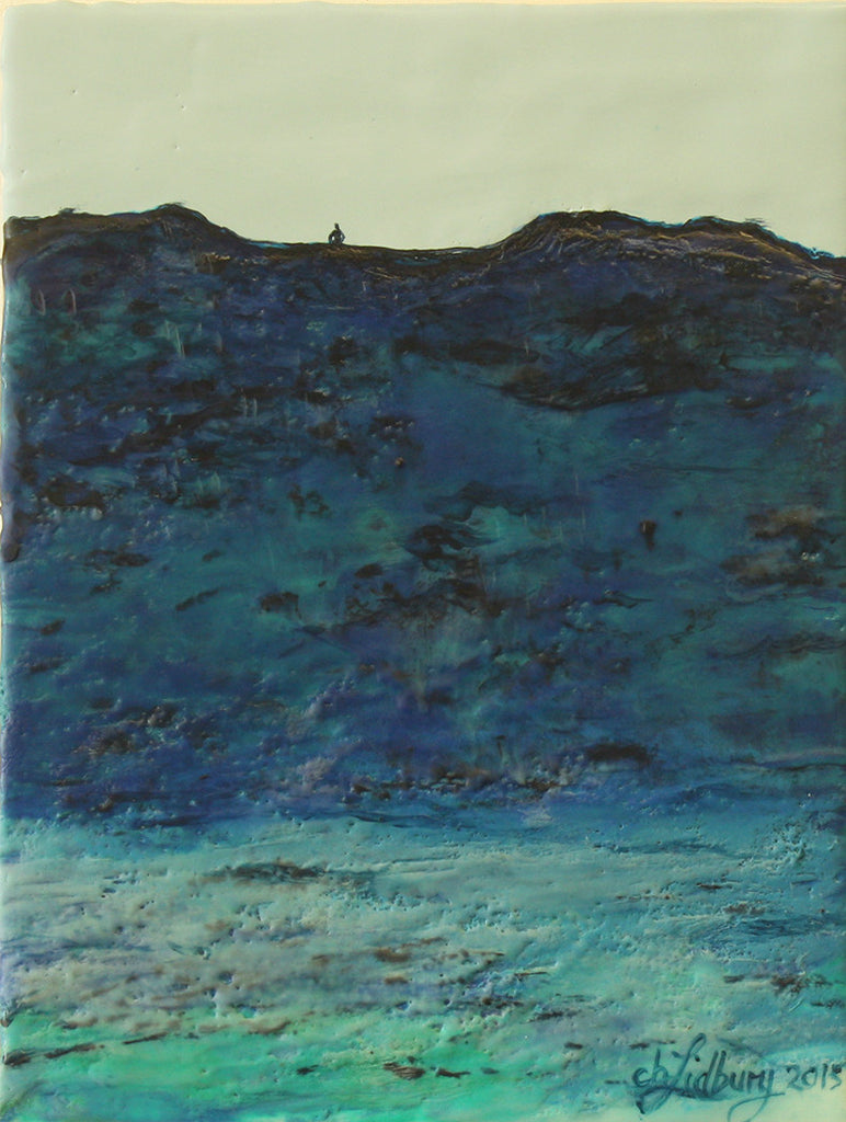 Encaustic Oil Artwork by local artist Cherie Lidbury