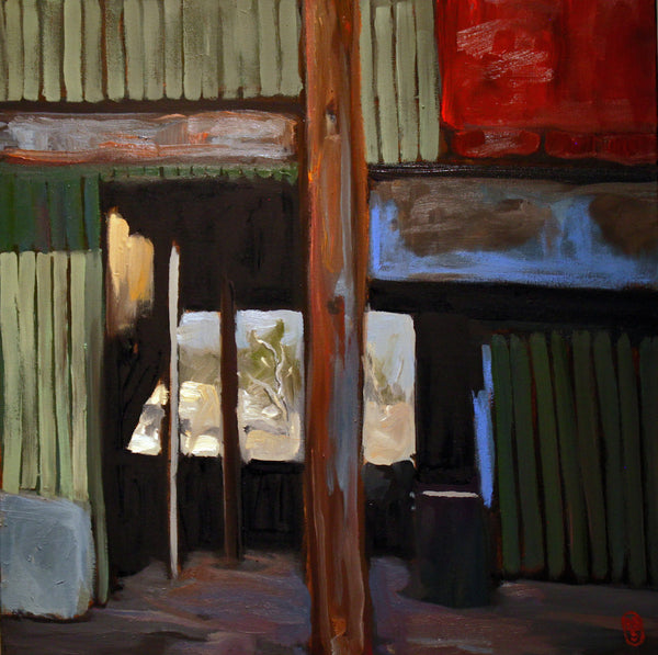 Light Through the Shed, Scone - SOLD