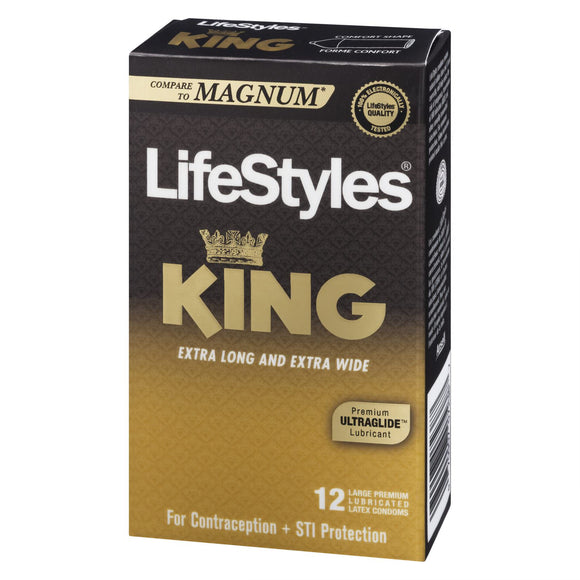 LifeStyles KYNG Gold (extra grande)