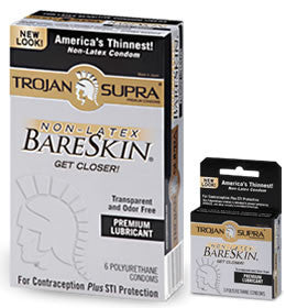Trojan Bare Skin No-Latex Supra